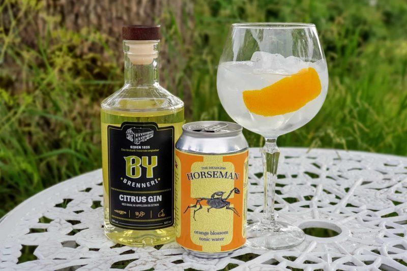 Gin og Tonic med By Brenneri Citrus Gin