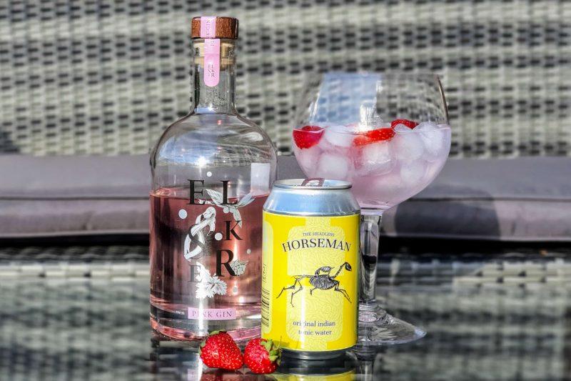 Gin og Tonic med Elsker Rosa Gin