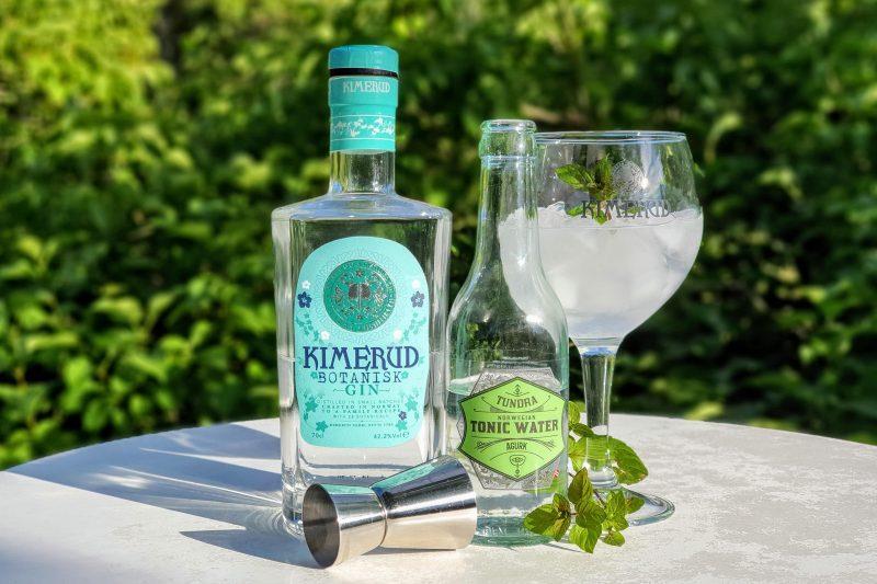 Gin og Tonic med Kimerud Botanisk Gin