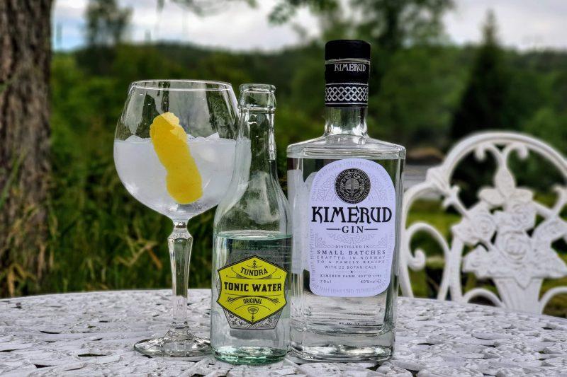 Gin og Tonic med Kimerud Gin