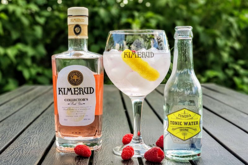 Gin - Tonic med Kimerud Pink Gin