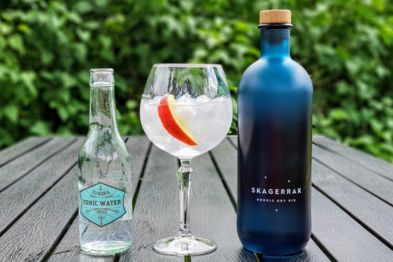 Gin og Tonic med Skagerrak Dry Gin