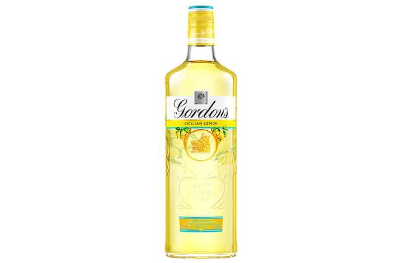 Gordon's Sicilian Lemon Gin Nye gin vinmonopolet-juli-2020