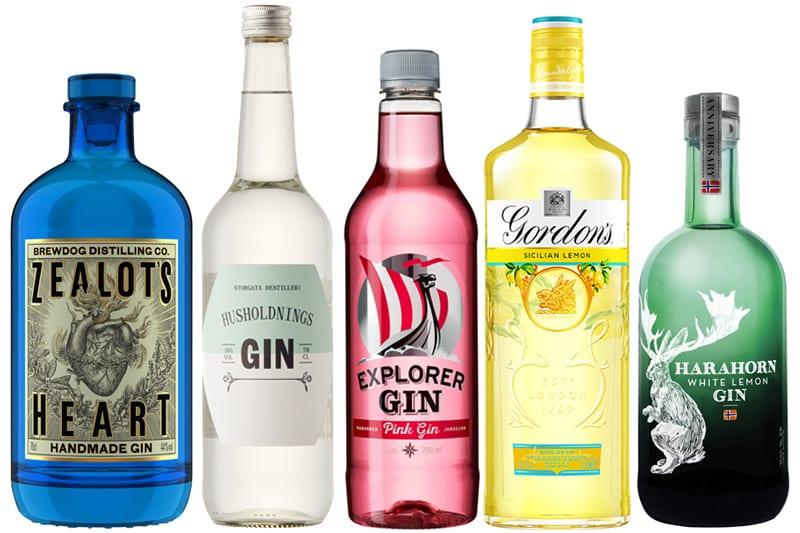 Nye gin på Vinmonopolet - Juli 2020
