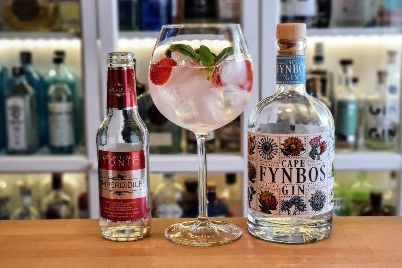 Gin og Tonic med Cape Fynbos Gin