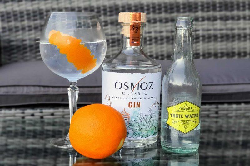 Gin og Tonic med Osmoz Classic Gin