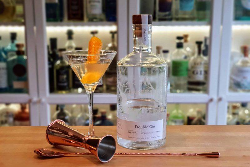 Dry Martini med Bareksten Double Gin