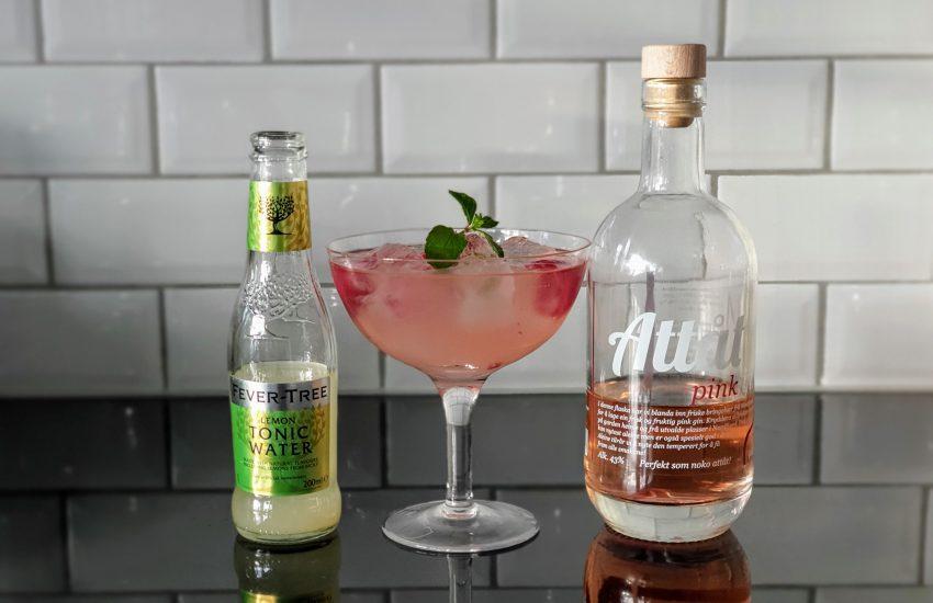 GT med Attåt Pink Gin