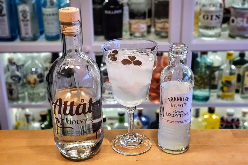 Gin Tonic med Attåt Kløver Gin
