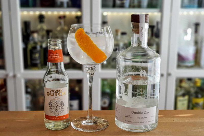 Gin Tonic med Bareksten Double Gin
