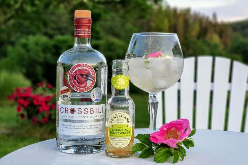 Gin Tonic med Crossbill Gin