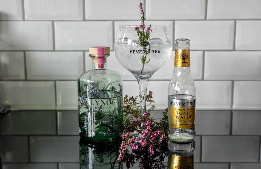 Gin og Tonic med Lyng Norwegian Botanical Gin