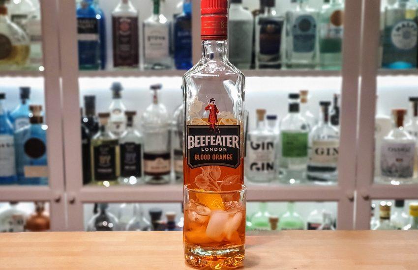 Negroni med Beefeater Blood Orange Gin