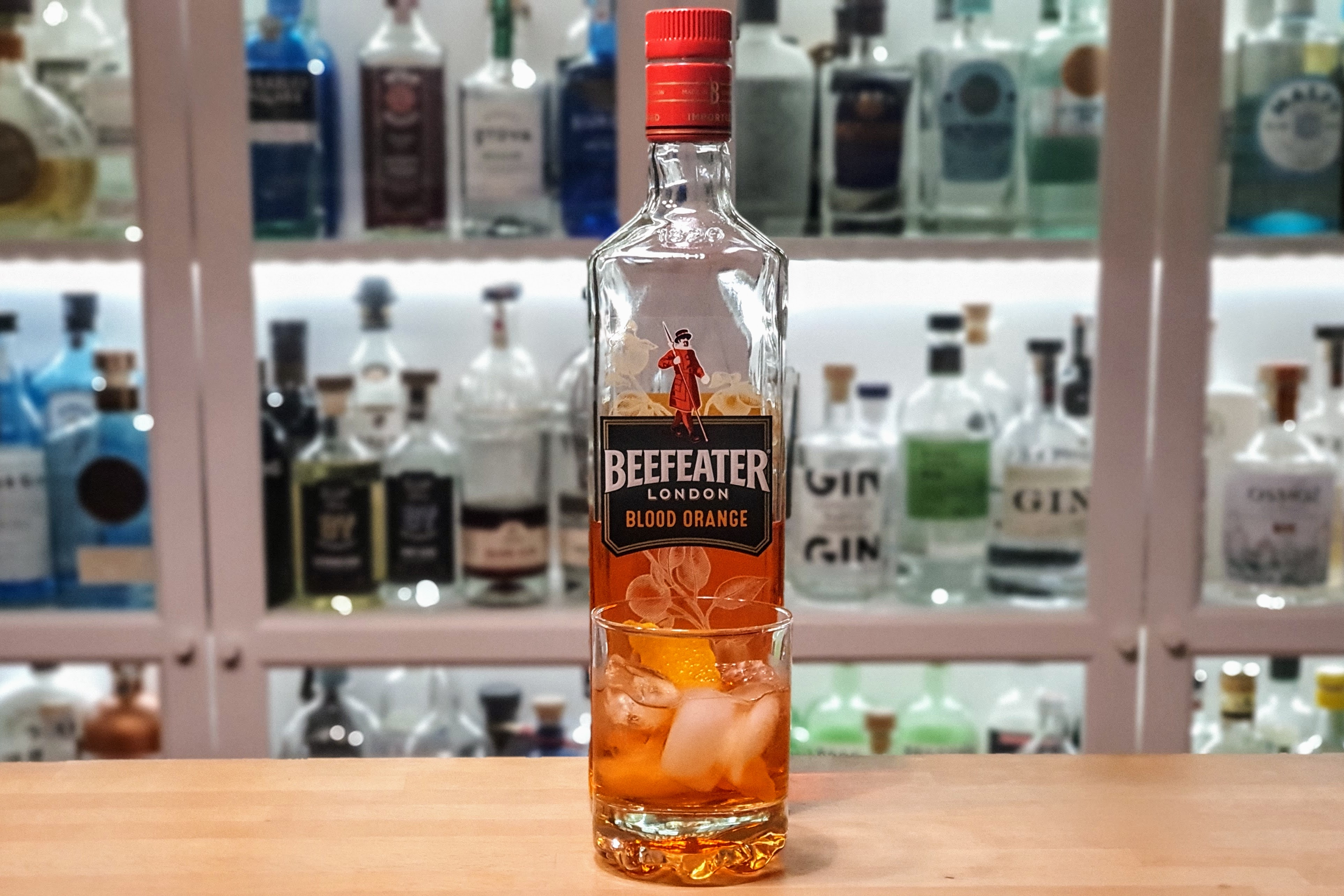 Negroni med Beefeater Blood Orange Gin