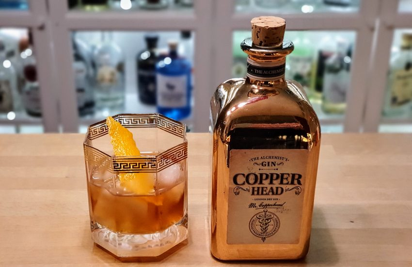 Negroni med Copper Head Gin