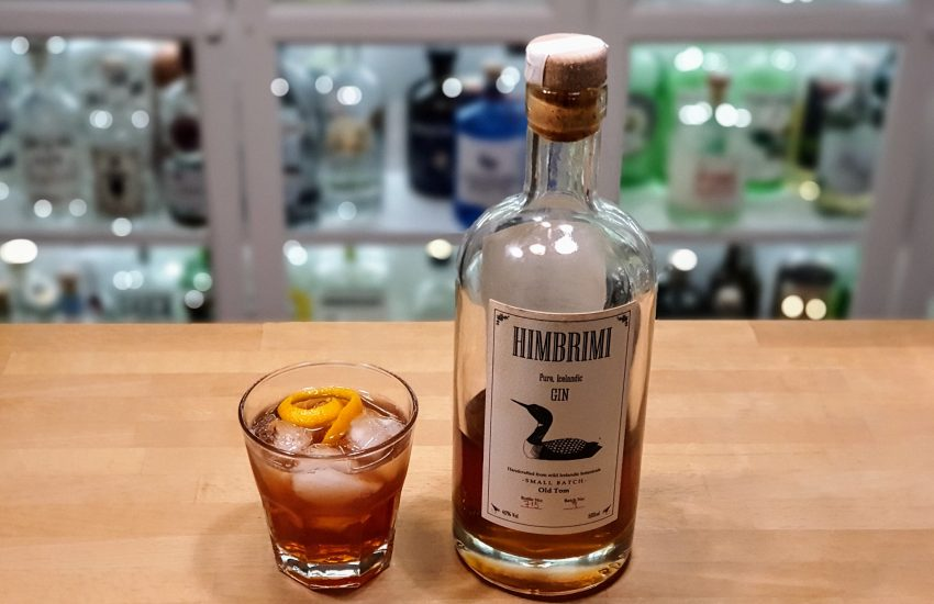 Negroni med Himbrimi Old Tom Gin