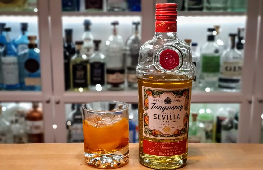 Negroni med Tanqueray Sevilla Gin