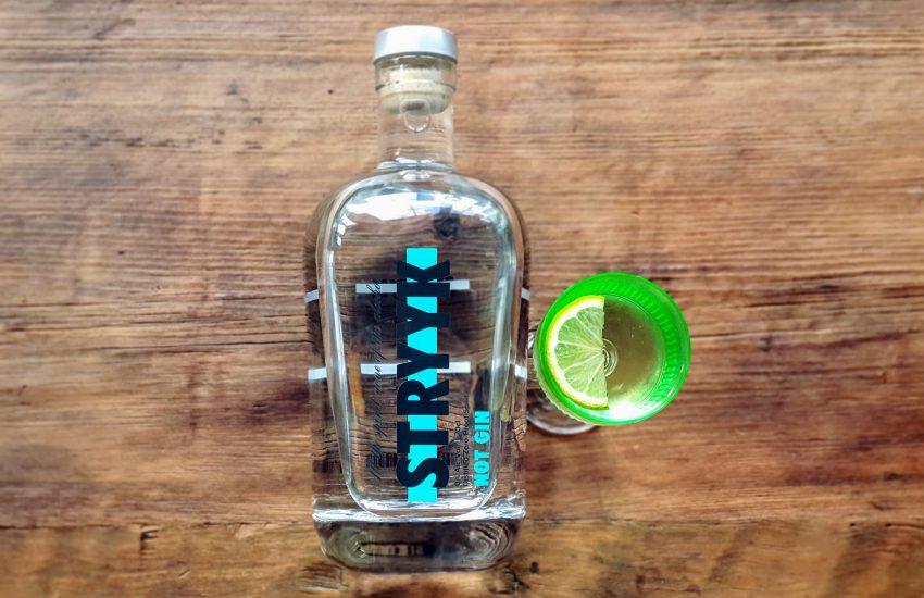 Alkoholfri Gimlet Med Stryyk Not Gin