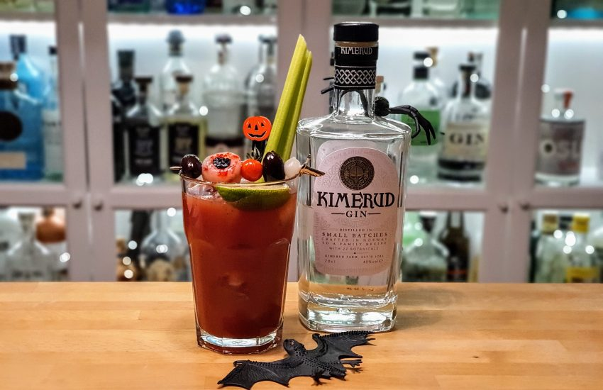 Bloody Red Snapper med Kimerud Gin