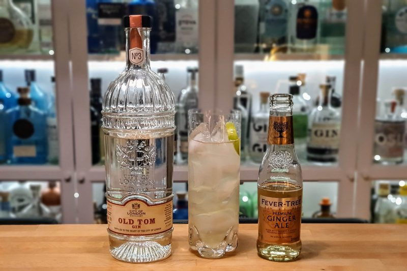 Foghorn med City of London Old Tom Gin