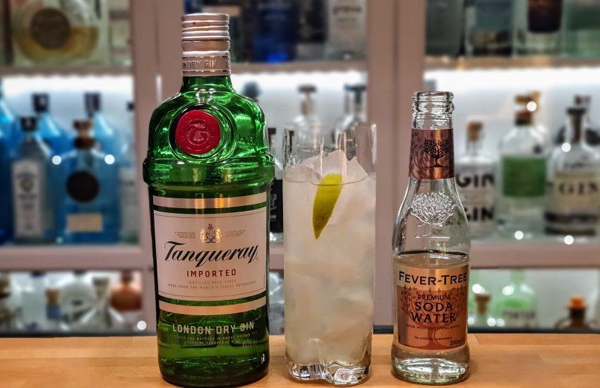Gin Rickey med Tanqueray London Dry Gin