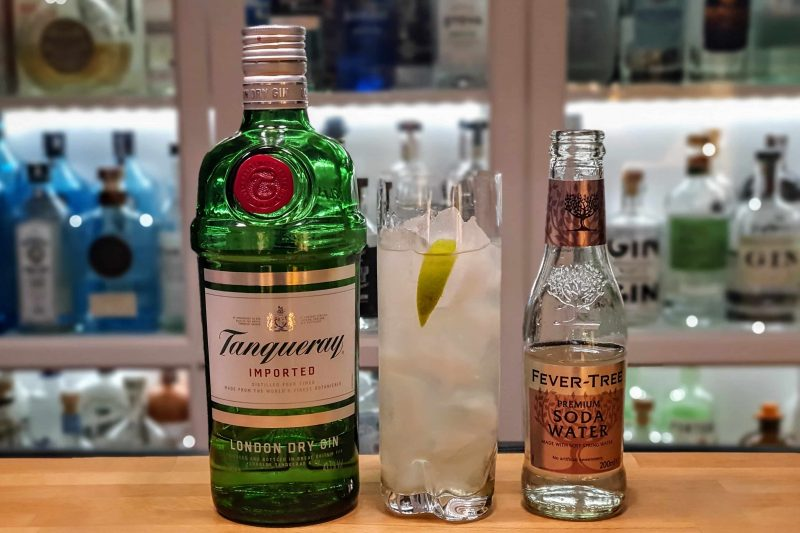 Gin Rickey med Tanqueray London Dry Gin