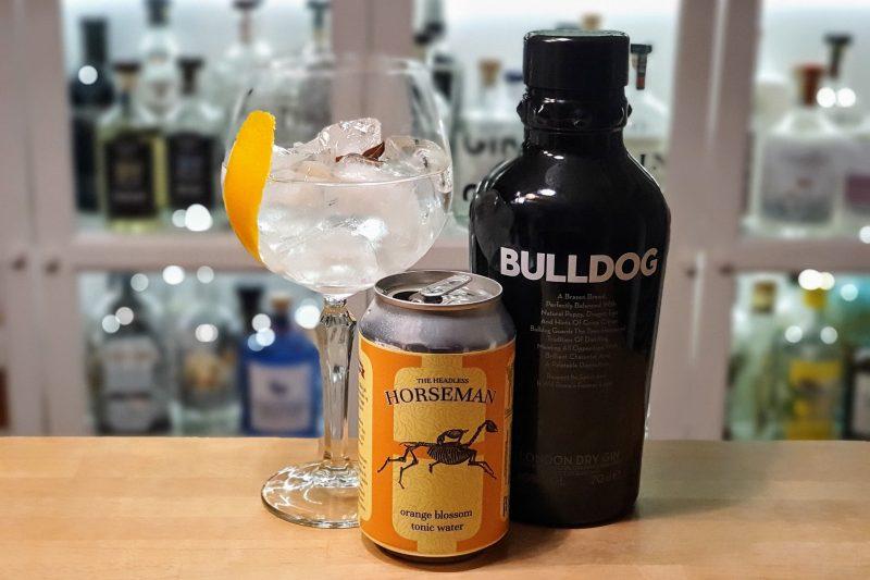 Gin Tonic med Bulldog London Dry Gin