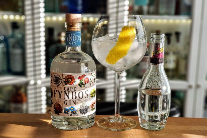 Gin & Tonic med Cape Fynbos Gin