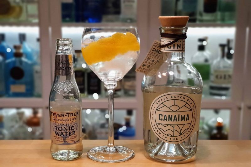 Gin og Tonic med Canaima Gin