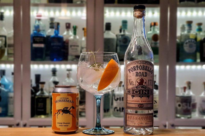 Gin og Tonic med Portobello Road Gin No. 171