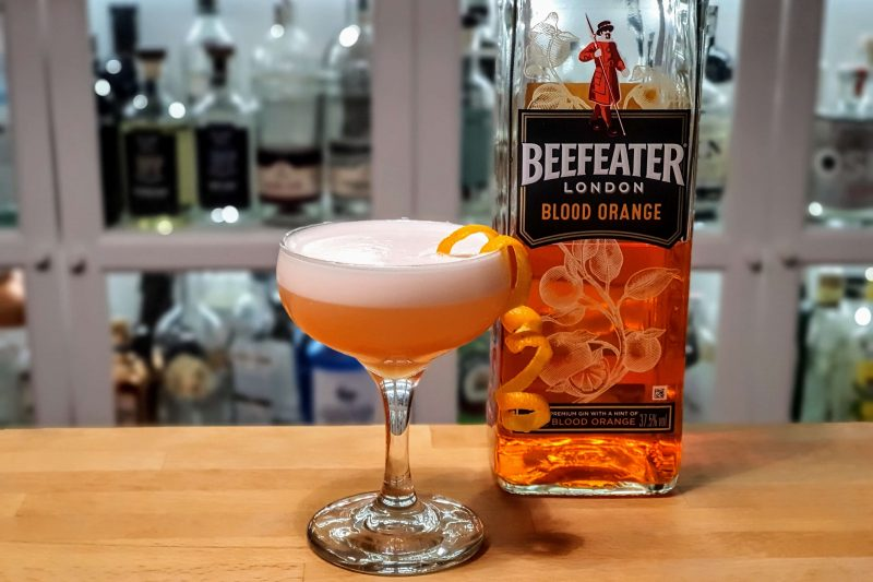 White Lady med Beefeather Blood Orange Gin