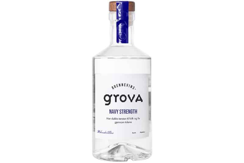 Brennevinsgrova Navy Strength Gin