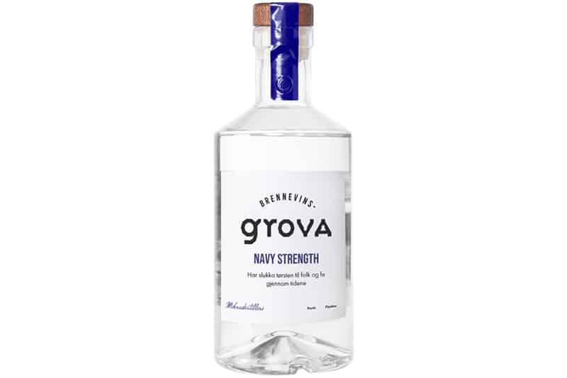 Brennevinsgrova Navy Strenght Gin