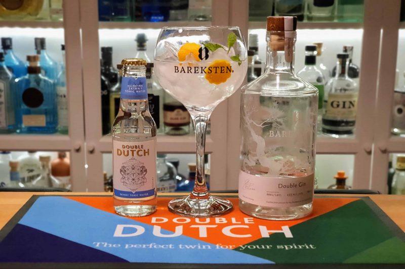 Double G&T med Bareksten Double Gin og Double Dutch
