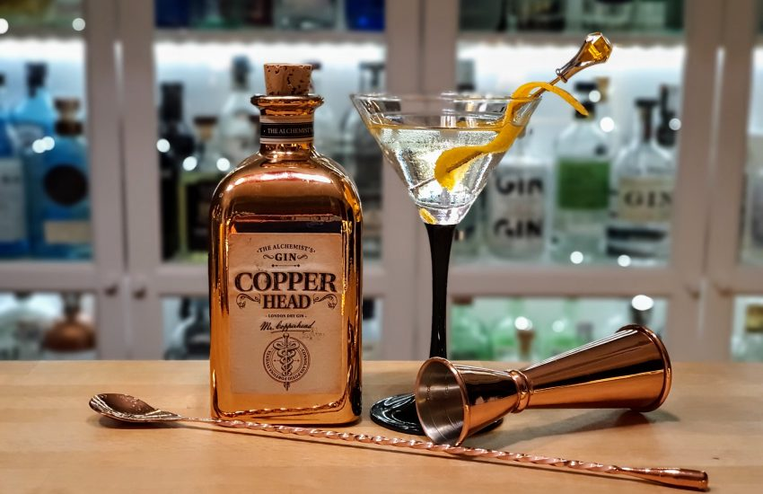 Dry Martini med Copperhead Gin