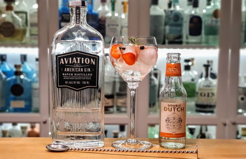 Gin Tonic med Aviation American Gin