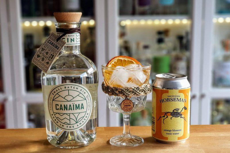 Gin-Tonic med Canaima Gin