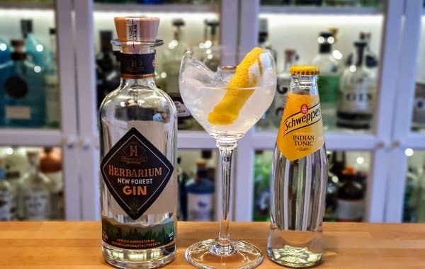 Gin-Tonic med New Forest Herbarium Gin