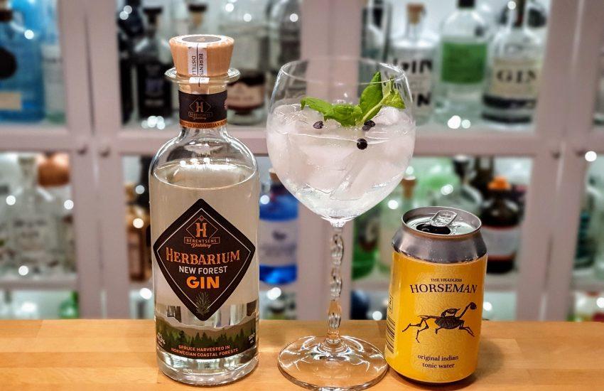 Gin og Tonic med Herbarium New Forrest Gin