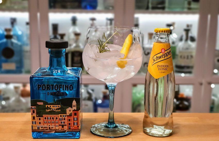 Gin og Tonic med Portofini Dry Gin