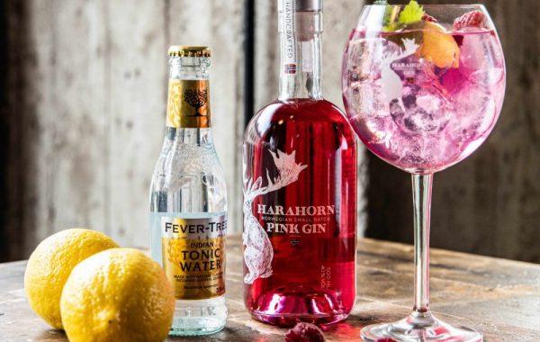 Ny Harahorn Pink Gin nye