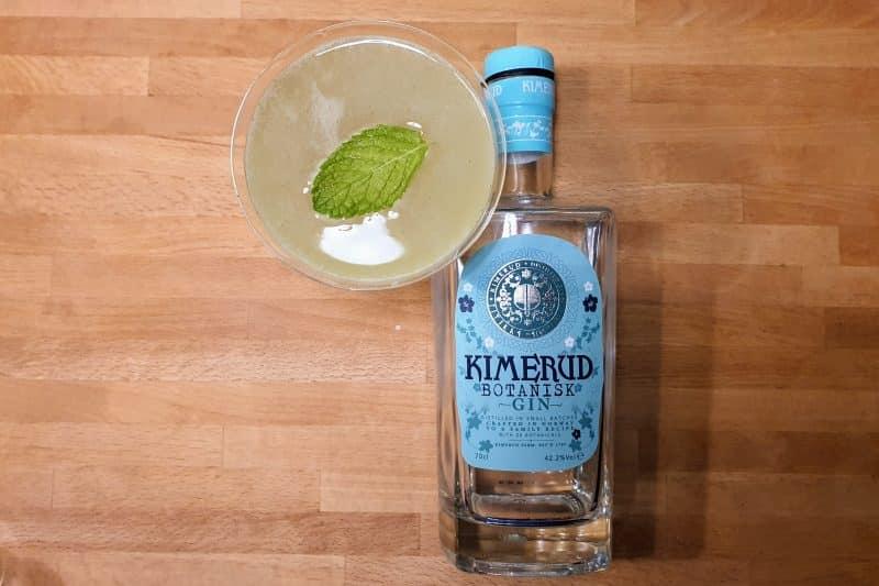 Southside cocktail med Kimerud Botanisk Gin