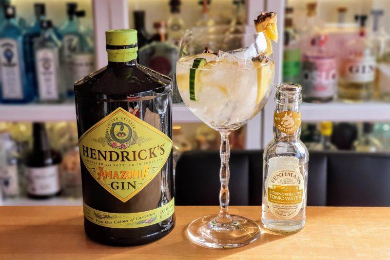 med Hendrick's Amazonia Gin