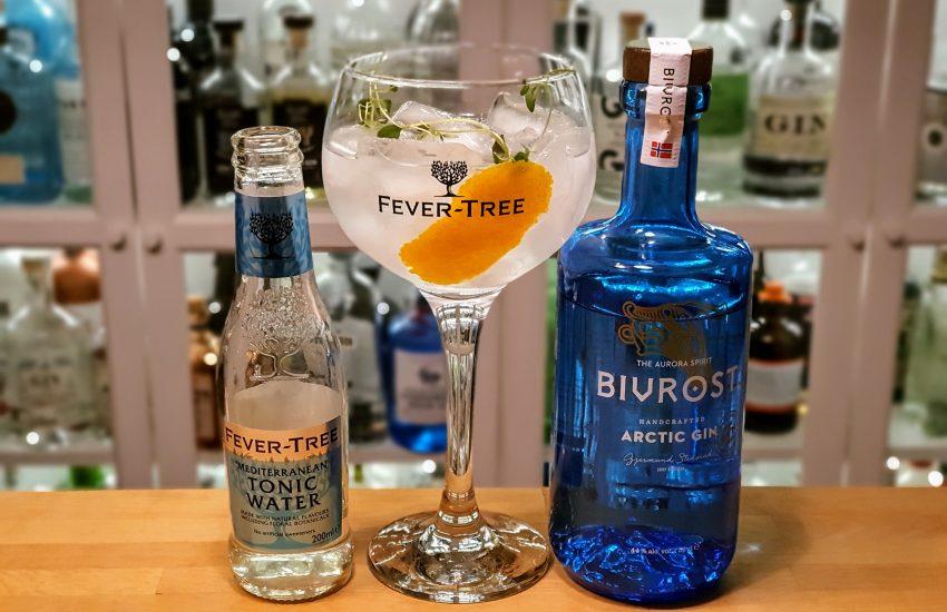 Gin-Tonic med Bivrost Arctic Gin