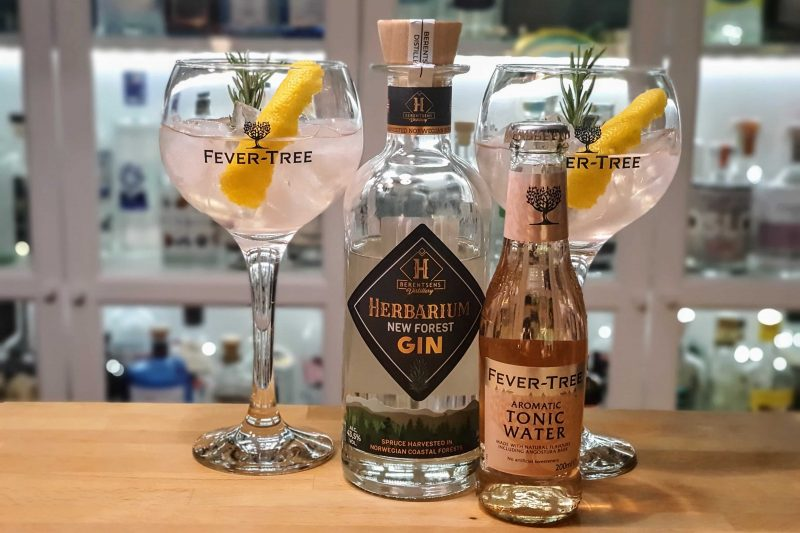 Gin-Tonic med Herbarium New Forest Gin