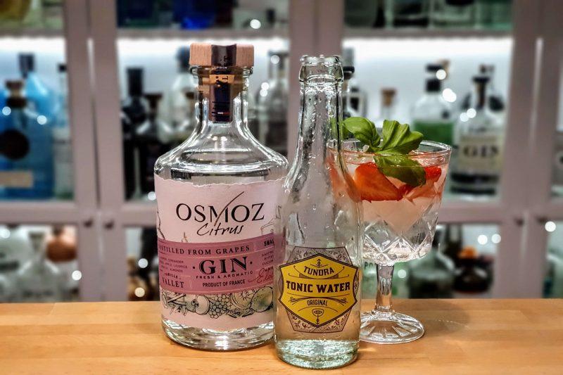 Gin-Tonic med Osmoz Classic Gin