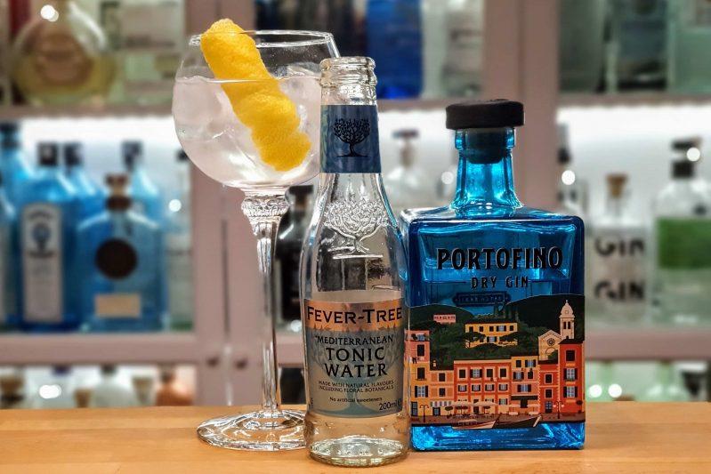 Gin - Tonic med Portofino Dry Gin
