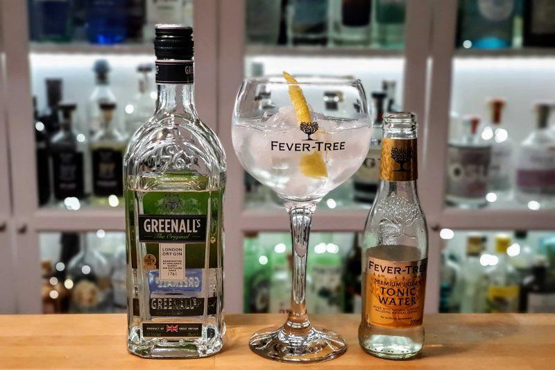 Gin og Tonic med Greenall's London Dry Gin