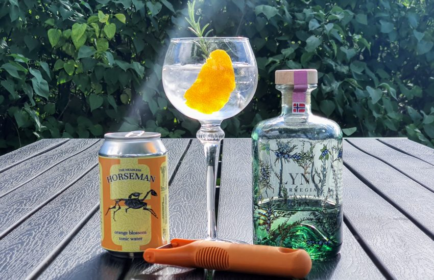 Gin Tonic med Lyng Gin