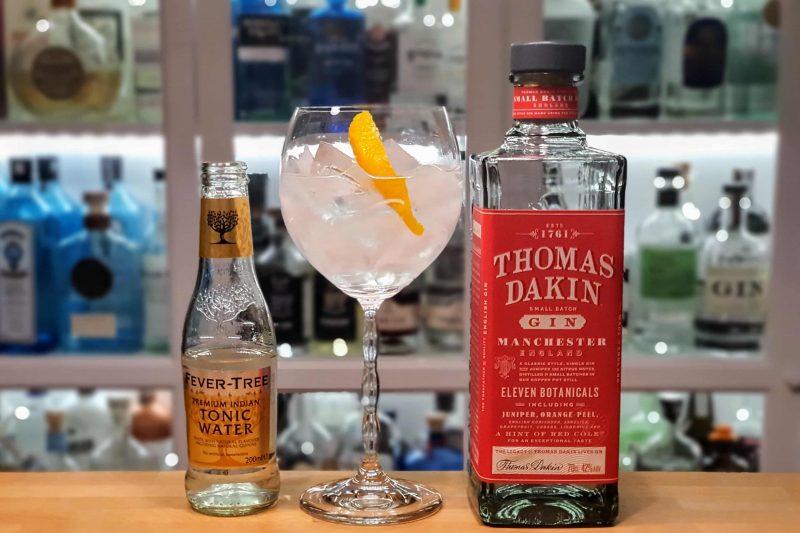 Gin og Tonic med Thomas Dakin Gin